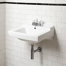 Wall Mount Sink Faucet How To Install Wall Mounted Sink Midcityeast
