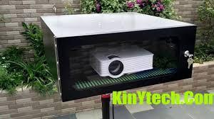 waterproof outdoor projector box enclosure ip65 youtube