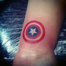simple superhero tattoos pictures to pin on pinterest tattooskid