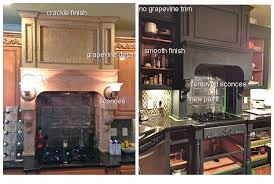 Crackle Paint Kitchen Cabinets You Considered Grey Kitchen Cabinets
