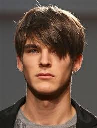 long fringe hairstyles men neat male haircut with a long fringe