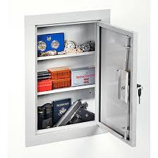 Stack On 16 Gun Double Door Cabinet Gun Storage Cabinet Firearm Safety In Wall Mount Store Valuables