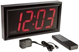 smart 090525 classroom led clock large digital clock