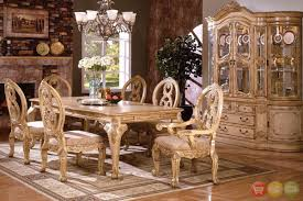awesome dining room sets with upholstered chairs ideas home