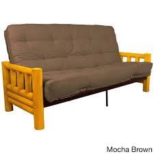 sofa pretty lodge futon frame mattress sofa lodge futon frame