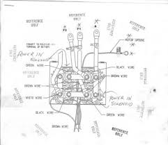 warn atv winch wiring diagram u0026 mile marker atv winch wiring