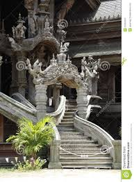 beautiful stairs beautiful stairs of thai temple royalty free stock photography