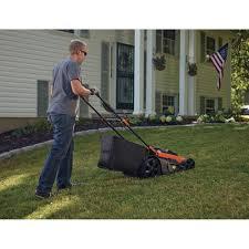black u0026 decker cm2040 40v cordless 20 in lawn mower walmart com