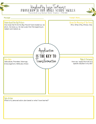 free old testament character study notebooking pages notebooking