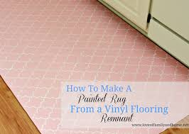 how to paint a rug vinyl flooring of family home