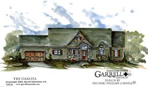 dakota cottage house plan house plans by garrell associates inc