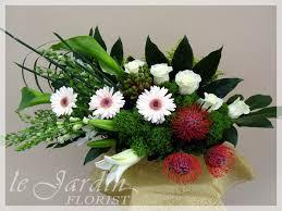 bon voyage tropical flower arrangement gerberas pinterest