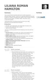 Immigration Consultant Resume Travel Consultant Resume Samples Visualcv Resume Samples Database