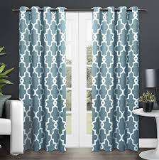 Teal Drapes Curtains Teal Curtain Panels Amazon Com