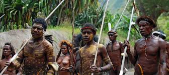 two years off archive into the bush papua west new guinea