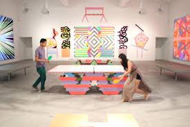 ben jones artist exhibition paintings ping pong ace gallery