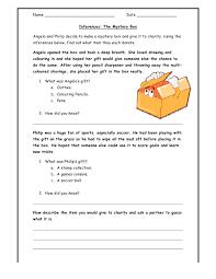 worksheets on inferences worksheets