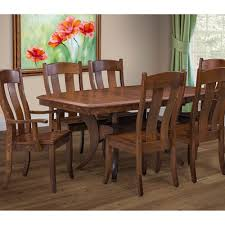 amish dining room tables fort knox dining table u2013 stutzmans amish furniture