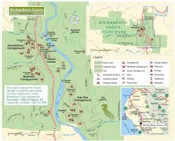 Bastrop State Park Map Richardson Grove Image Gallery Hcpr
