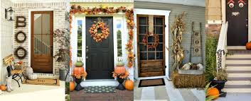Fall Front Door Decoration Ideas Rustic Baby Chic