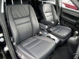 honda crv seat cover 2007 2009 honda crv leather interior seat covers black ebay