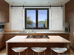 Barn Doors With Windows Ideas Barn Doors Kitchen Windows Window Treatment Ideas Sunburst