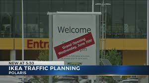 columbus police ikea building traffic plan for grand opening in