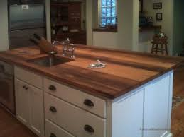 kitchen island wood countertop reclaimed wood countertop photos antique woodworks