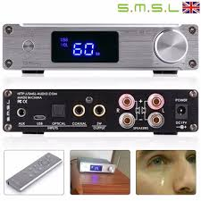 home theater power amplifier smsl q5 pro 2 45w pure digital power amplifier usb coaxial optical