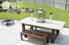 Plans For Making A Wooden Garden Bench by Thrifty And Chic Diy Projects And Home Decor