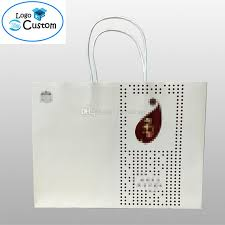 2018 cheap wholesale paper shopping bags custom logo design