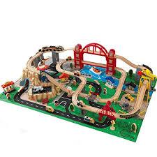 kidkraft train table compatible with thomas kidkraft metropolis train set with roll up felt play mat wantitall