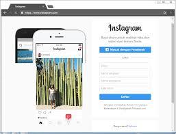 cara membuat akun instagram resmi seperti artis cara mudah daftar atau membuat akun instagram di hp android