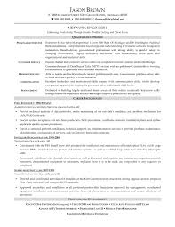 Computer Technician Resume Cisco Network Engineer Resume Sample Resume For Your Job Application