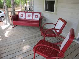 Antique Metal Porch Glider Before And After Torma Take