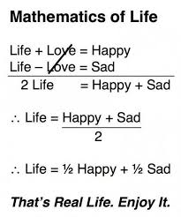 Happy Life Meme - mathematics of life quotes thoughts daily inspirations for
