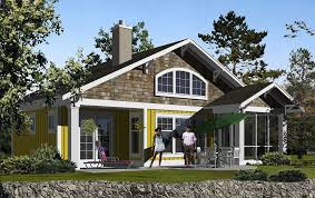 small craftsman cottage house plans craftsman a 1678 craftsman french door screens and open concept