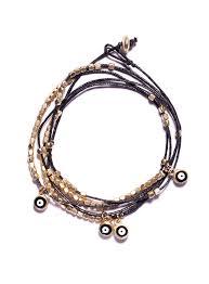 evil eye bead bracelet images Wrap around evil eye beads bracelet black we are all smith jpg