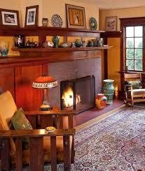 Arts And Crafts Interior 62 Best Arts U0026 Crafts Interiors Images On Pinterest Craftsman