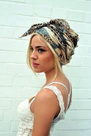 how to wear a bandana with short hair pin up blonde hairstyles for short hair with bandana women