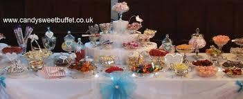 candy sweet buffet
