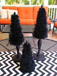 halloween decor tabletop trees