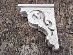 victorian wooden shelf bracket shabby chic farmhouse decor wooden