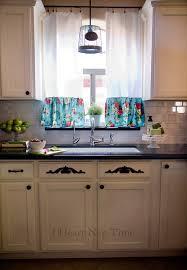 Diy Kitchen Curtain Diy Kitchen Makeover Reveal I Heart Nap Time