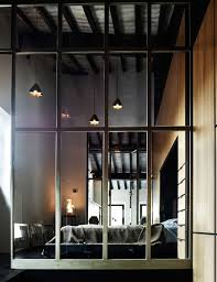former maze turned into airy loft in firenze italy glass