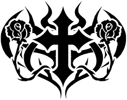 tribal cross tattoos photos flash all styles and