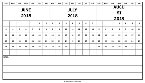 printable calendar 2018 august june through august 2018 calendar gidiye redformapolitica co