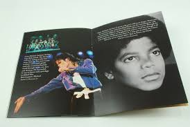 michael jackson funeral program lot detail michael jackson original 2009 memorial funeral program