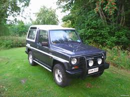 jeep daihatsu daihatsu rocky museoajoneuvo 7 hengen avoauto vaihto 4x4 1986