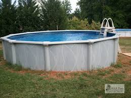 Average Cost Of Landscaping by Pool Image Of Round White Above Ground Backyard Pool